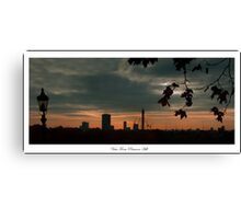 Sunrise view from Primrose Hill Canvas Print