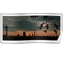 Sunrise view from Primrose Hill Poster
