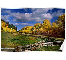 Colorado Fall Poster