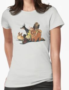 Dogs Dogs Dogs Womens Fitted T-Shirt