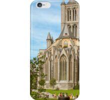 Gent, Sint Niklaas cathedraal iPhone Case/Skin