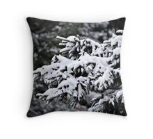Lightly Falling Snow Throw Pillow