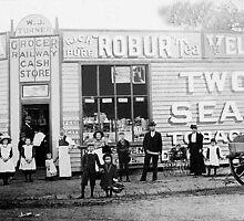 W.J Turner's Shop  Springvale Vic  1903 by Tom Newman