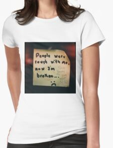 Adorably Emo Womens Fitted T-Shirt