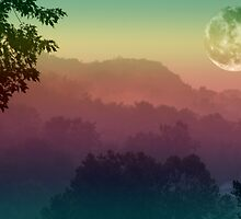 Misty Moon by elisab