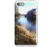 By the River in Durham iPhone Case/Skin