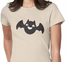 Smiling cutie BATTY! Womens Fitted T-Shirt