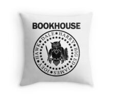 Bookhouse Punks v2 Throw Pillow
