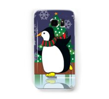 Penguin Skate Samsung Galaxy Case/Skin
