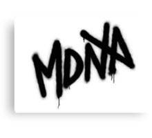 MDNA Tag (Black) Canvas Print