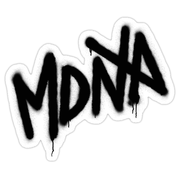 MDNA Tag (Black) by DCdesign