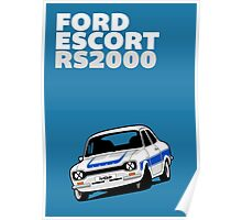 Fortitude's Ford Escort Mark 1 RS2000 Poster Poster