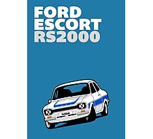 Fortitude's Ford Escort Mark 1 RS2000 Poster Photographic Print