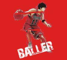 """Rukawa """"the Baller"""" Kids Clothes"""