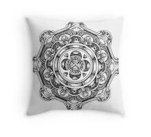 Godzi #9 Throw Pillow