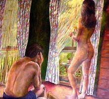 """What Happens in the Bedroom by Belinda """"BillyLee"""" NYE (Printmaker)"""