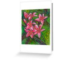 Pink in enamel Greeting Card