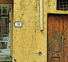 Rio Elba - Toscana Italy Sticker