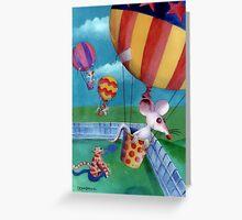 Kiddy Book illustration Greeting Card