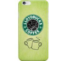 LloydBucks! Hot? (Iced??) Coffee! iPhone Case/Skin