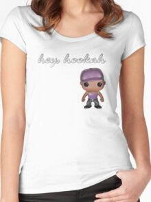 Ring ring, hookah Women's Fitted Scoop T-Shirt