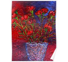 Carnations Poster
