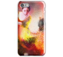 Flamencoscape 11 iPhone Case/Skin