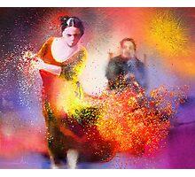 Flamencoscape 11 Photographic Print