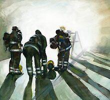 Going into Smoke by Vicky Stonebridge