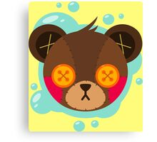 Cute Plush Bear Canvas Print