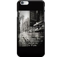 Fairytale of New York iPhone Case/Skin