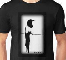 Magpie Black and White T-shirt Unisex T-Shirt