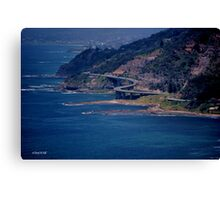 SEA CLIFF BRIDGE ---- STANWELL TOPS Canvas Print
