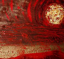 "Red Rain by Belinda ""BillyLee"" NYE (Printmaker)"