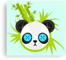 Cute Plush Panda Canvas Print