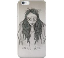 Corpse Bride pillow/tote/phone case iPhone Case/Skin