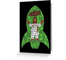 Jebus Crustacean Greeting Card