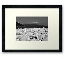 Kefalonia Pebble Beach Framed Print