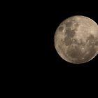 Full Moon, December 7, 2014, Kardinya, W.A. by Sandra Chung