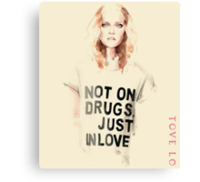 Tove lo - Pure design Canvas Print