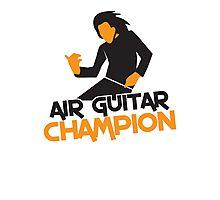 Air GUITAR Champion Photographic Print