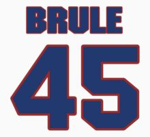 National Hockey player Steve Brule jersey 45 by imsport