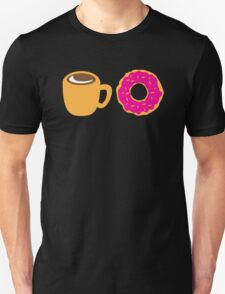 Coffee and Doughnut! sweet treats! Unisex T-Shirt