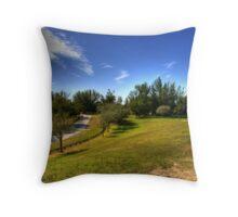 Hillside Hike Throw Pillow