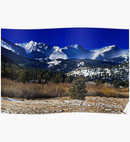 A View From Estes Park Poster