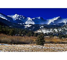 A View From Estes Park Photographic Print