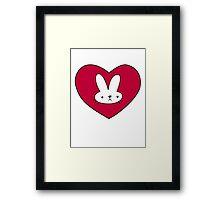 Adventure Time Bunny Framed Print