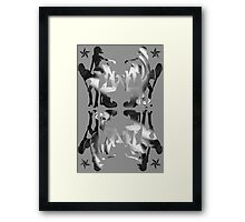 Girls! Girls! Girls! Framed Print