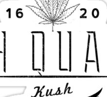 High Quality Kush Sticker