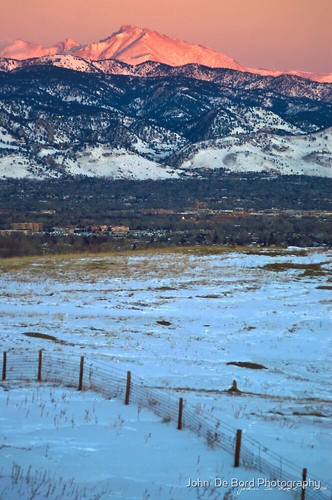 Daybreak Along the Front Range by John  De Bord Photography